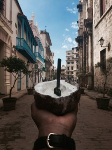 Eating-Icecream-In-Cuba-Havana